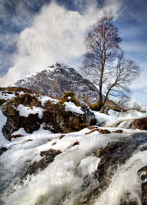 Etive Waterfall 